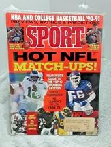 Sport Magazine December 1990 Hot NFL Matchups - $5.89