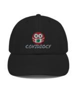 Covidiocy Black Cap - $28.99
