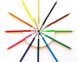 Pencil clock art clock original modern clock colorful clock for kids cool clocks thumb155 crop