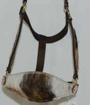 Pioneer Horse Tack Horse Show Halter Leather Hair Nylon Combnation image 3