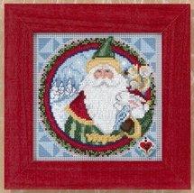 Father Christmas Kit 2009 cross stitch kit Jim Shore - $13.95