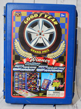Good Year Grand Prix Winner Rolling Car Case Holds 100 Diecast Toy Cars ... - $65.13 CAD