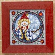Western Snowman Kit 2009 cross stitch kit Jim Shore - $13.95