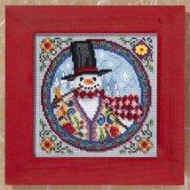 Eastern Snowman Kit 2009 cross stitch kit Jim Shore - $13.95