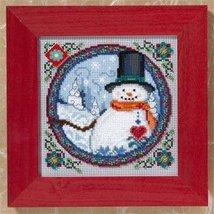 Southern Snowman Kit 2009 cross stitch kit Jim Shore - $13.95