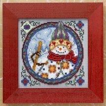 Northern Snowman Kit 2009 cross stitch kit Jim Shore - $13.95