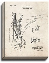 Locking Wrench and Pliers Patent Print Old Look on Canvas - $39.95+