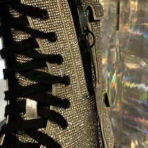 NEW In BOX Billionaire Bling Boot Club Exx Size 7 WOW! SHIIINYYY image 11