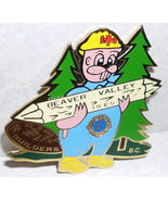Lions Club Beaver Valley 19-E5 We Are Builders B C Pin Hong Woon Co Taip... - $6.85