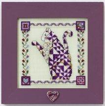 Petunia quilted cat cross stitch kit Jim Shore - $13.95