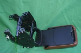 08-14 Audi A5 Sliding Leather Armrest Center Console Lid Cover image 4