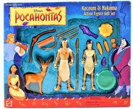 Disney's Pocahontas Kocoum & Nakoma Action Figure Gift Set #66510 Free S... - $49.49