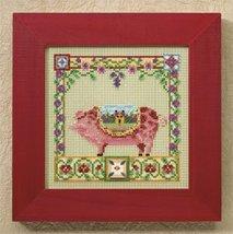 Percy Pig farm animals cross stitch kit Jim Shore - $13.95