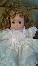 Magic Nursery Baby Doll Toddler Girl, Mattel, Vintage 1989  - $9.89