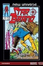 New Universe Star Brand # 4 January 1986 [Paperback] by Marvel Comics; I... - $7.99