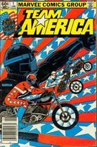 Team America #1 : The Origin (Marvel Comics) [Comic] by Jim Shooter; Mik... - $7.99