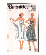 Ladies PATTERN;   5480 Butterick, Halter-top Dress, Size 8 - $5.95
