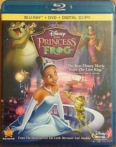 Disney The Princess and The Frog (Blu-ray / DVD Combo)