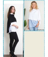 Simply Noelle button wrap shawl scarf black or white or ivory cream - $25.99