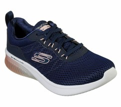 Skechers Navy Pink shoes Memory Foam Women's Sporty Air Ultra Flex Comfo... - $47.99