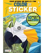 Bendon 44093 Animals Advanced Color by Sticker Book - £6.29 GBP