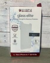 ZAGG - InvisibleShield® Glass Elite Screen Protector for Apple iPhone 11  - $21.78