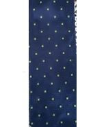 """Perry Ellis Portfolio ~ 100% Silk ~ 58"""" Handmade Necktie ~ Navy w/Green ... - $15.84"""
