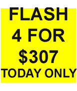 SPECIAL FLASH SALE!!! ANY 4 FOR $307 ONE DAY ONLY BEST OFFER DEAL MAGICK  - $0.00