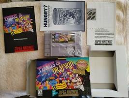 1997 Super Nintendo Tetris & Dr. Mario Boxed Complete Clean  - $39.99