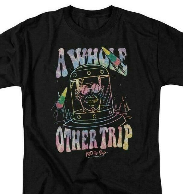 Astro Pop T-shirt Other Trip retro 80's 70s candy black cotton graphic tee AP107
