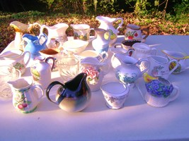 Pitchers and Creamers Lot 3 - $55.00