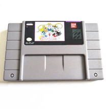 Pretty Soldier Sailor Moon R SNES Super Nintendo USA NTSC English - Beat... - $19.99