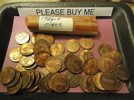 1986-P Circs Lincoln Cent Roll **L@@K** We Combine Shipping - $1.98