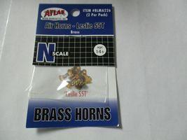 "Atlas # BLMA226 Air Horns Brass ""Leslie S5T""  2 per Pack  N-Scale image 5"