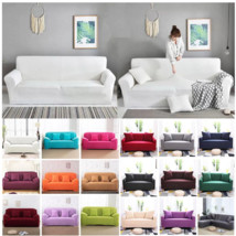 Sofa Cover for Living Room Elasticity Non-slip Couch Slipcover Universal Spandex - $25.99