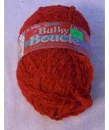 Caron Bulky Boucle  Yarn Scarlet Softly Textured - $3.39