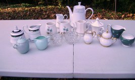 Pitcher and Creamer Lot 4 - $50.00