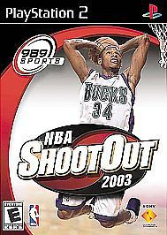 Primary image for NBA ShootOut 2003 Sony PlayStation 2, 2002 FREE SHIPPING U.S.A.