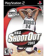 NBA ShootOut 2003 Sony PlayStation 2, 2002 FREE SHIPPING U.S.A. - $7.14