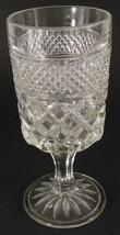 """Anchor Hocking Wexford Large WINE GLASS 6 3/4"""" 8 oz Replacement Single Glass - $3.46"""
