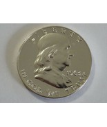1963 Proof - Franklin Half dollar, 90% silver coin - Uncirculated in sleeve - $27.67
