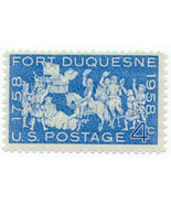1958 4c Fort Duquesne, French Fort Scott 1123 M... - $0.99