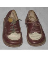 Adorable Vintage Pair Of Oxford Baby Shoes - $67.57