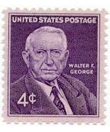 1960 4c Walter F. George Scott 1170 Mint F/VF NH - €0,84 EUR