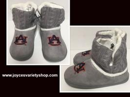 Auburn University Fur Knit Boots AU Logo Women's Many Sizes image 1