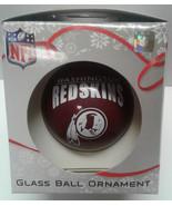 Washington Redskins Glass Ball Ornament - $8.99
