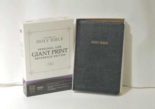Holy Bible Personal Size Giant Print Reference Edition King James Version