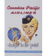 Canadian Pacific Airlines straight to the point fastest to 5 continents ... - $32.50