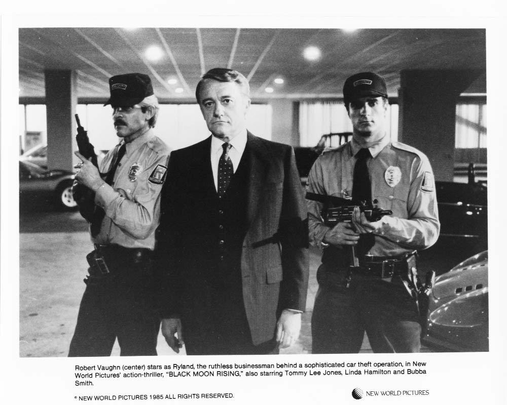 3 Black Moon Rising Robert Vaughn Tommy Lee Jones Press Photo Movie Still 1985