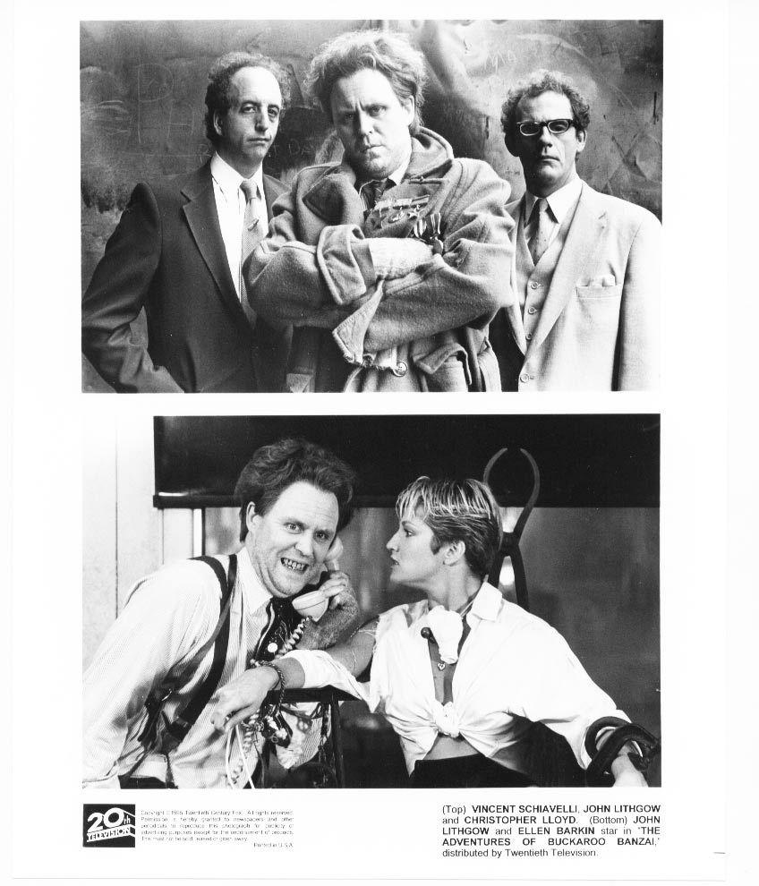Adventures of Buckaroo Banzai John Lithgow Ellen Barkin Press Photo Movie Still